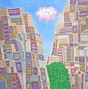Link to Galerie d'Art : vision très urbaine d'un artiste inspiré