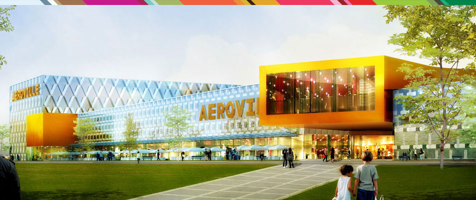 Aeroville un projet innovant et futuriste fin octobre 2013 le futur centr - Le centre commercial aeroville ...